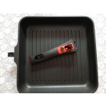 Сковорода-гриль Rondell Urban RDA-883 28х28 см цвет черный