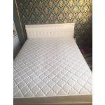 Кровать Комфорт-S М9 Гертруда 140*200 цвет белая лиственница/ясень жемчужный