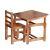 Комплект детской мебели ВПК Фея Растем вместе орех