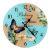 Настенные часы Русские подарки 78915
