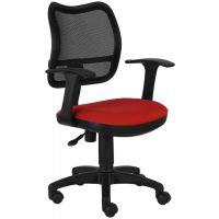 Кресло офисное Бюрократ CH-797AXSN красный