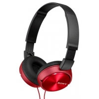 Проводные наушники Sony MDR-ZX310 красный